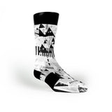 Stormtrooper Custom Nike Elite Socks