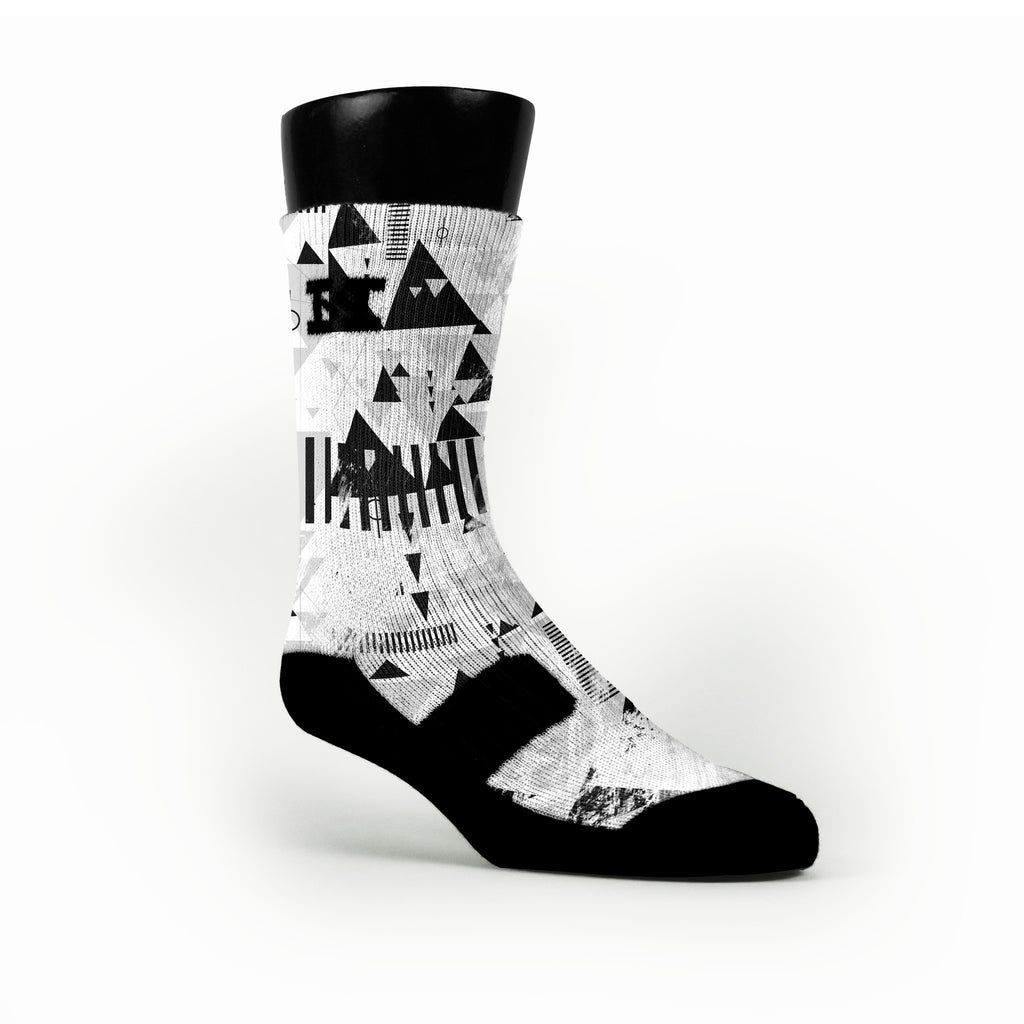 Stormtrooper Custom HoopSwagg Socks