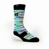 Striped Camo Custom HoopSwagg Socks