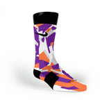 Suns Hardwood Camo Custom Nike Elite Socks