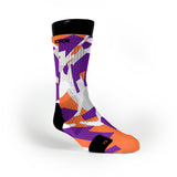 Suns Hardwood Camo Custom Notion Socks