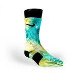 Super Galactic Custom Nike Elite Socks