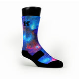 Superman Galaxy Custom HoopSwagg Socks