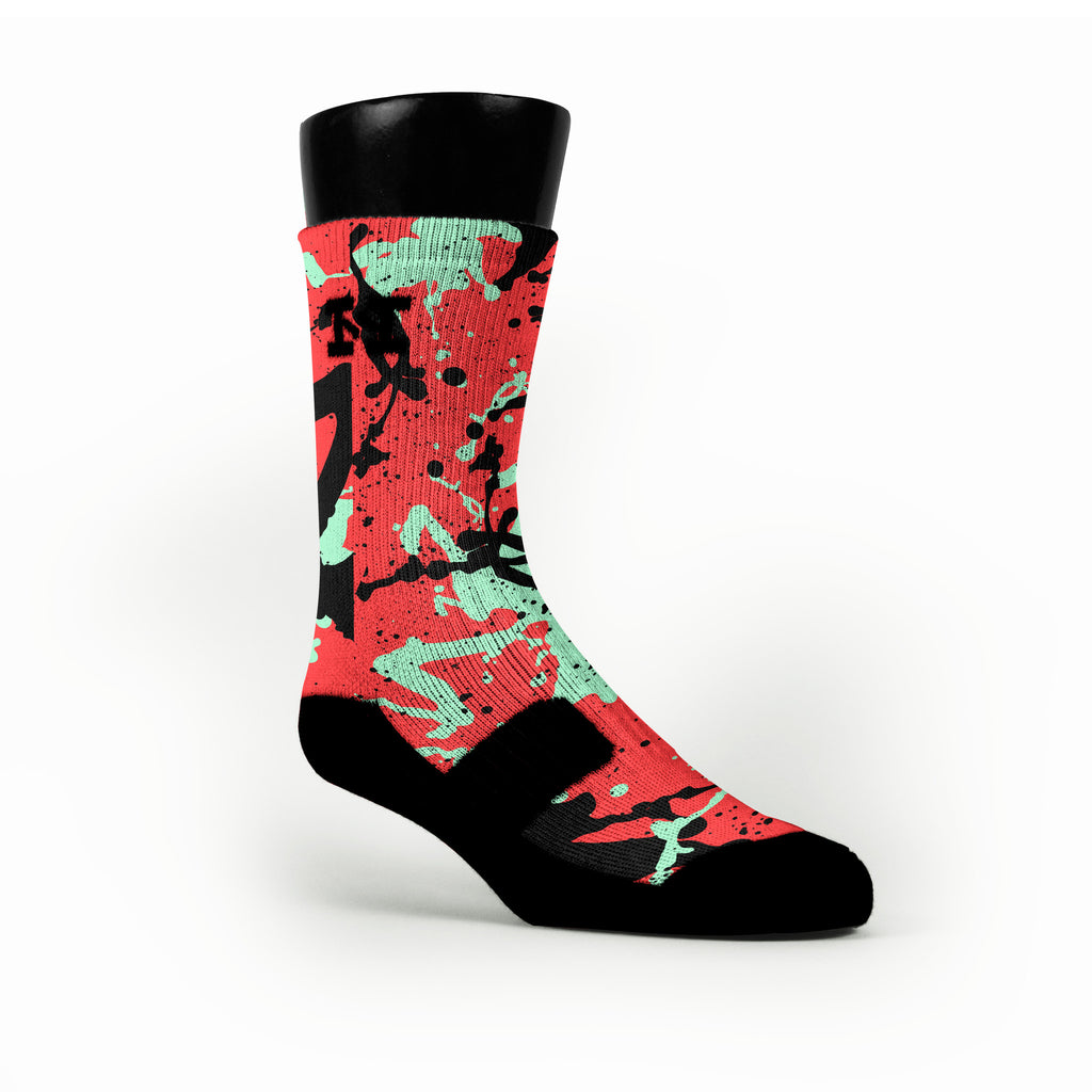 Sweet Apples Custom HoopSwagg Socks