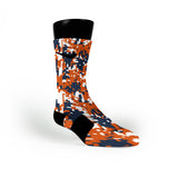 Syracuse Digital Camo Custom Nike Elite Socks