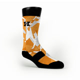 Texas Hardwood Camo Custom HoopSwagg Socks