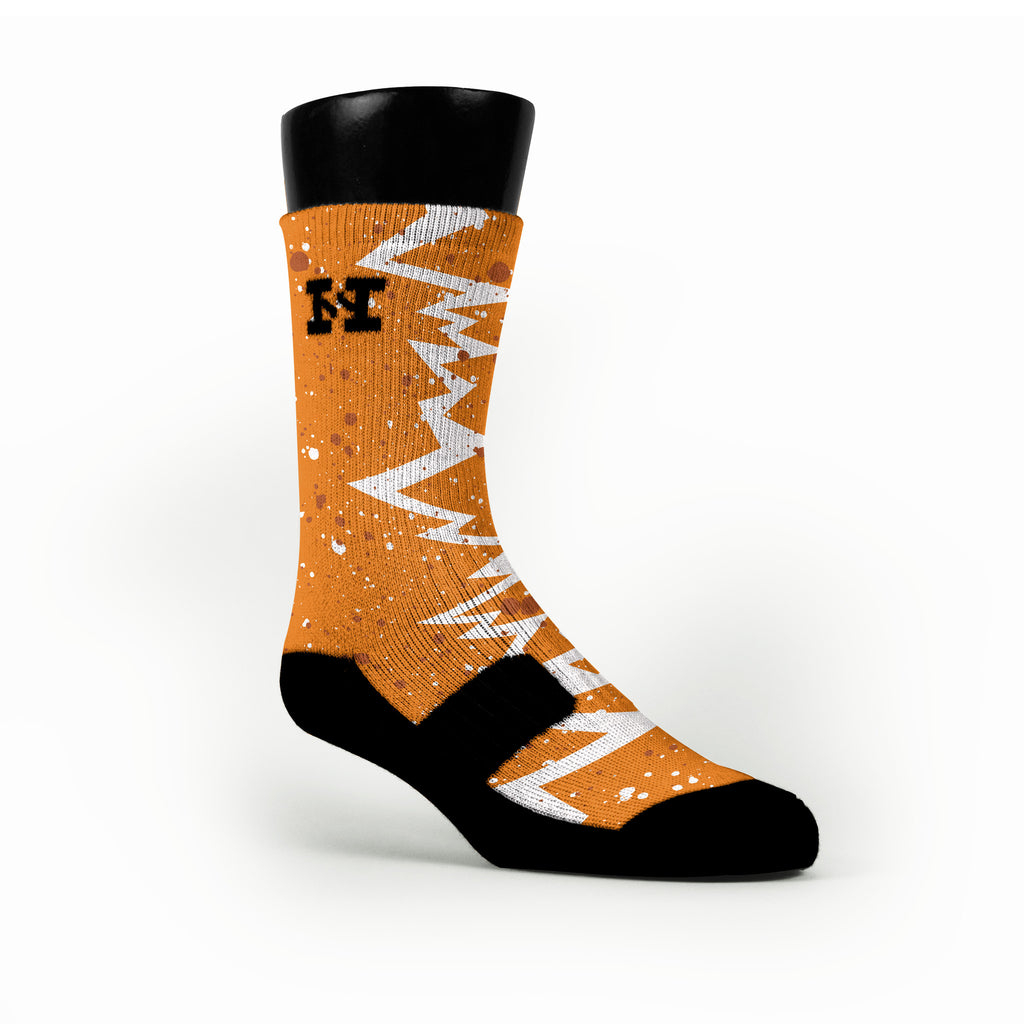 Texas Quakes Custom HoopSwagg Socks