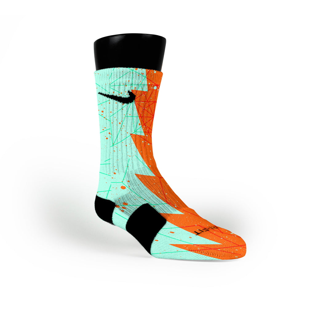 Texas Razor Custom Nike Elite Socks