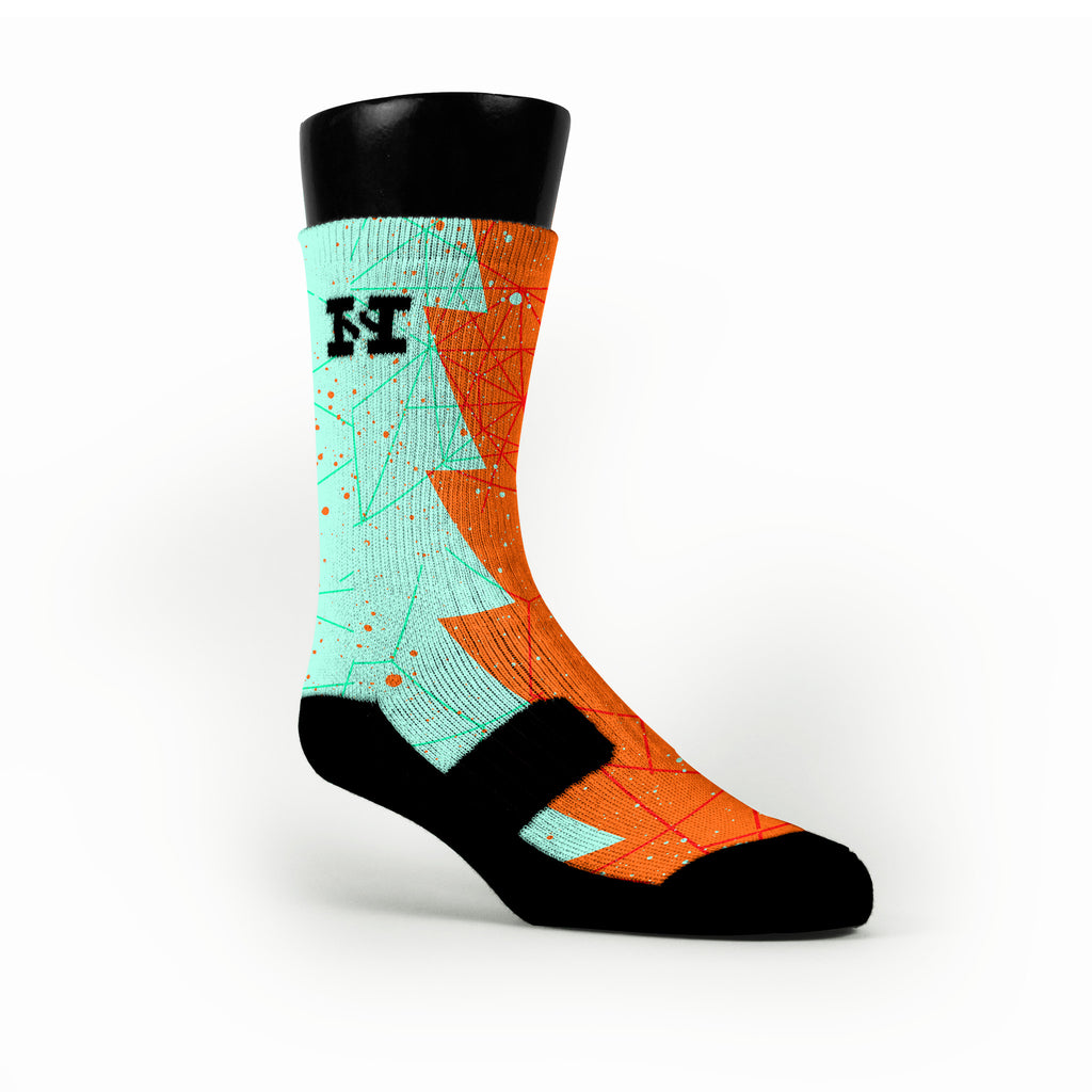 Texas Razor Custom HoopSwagg Socks