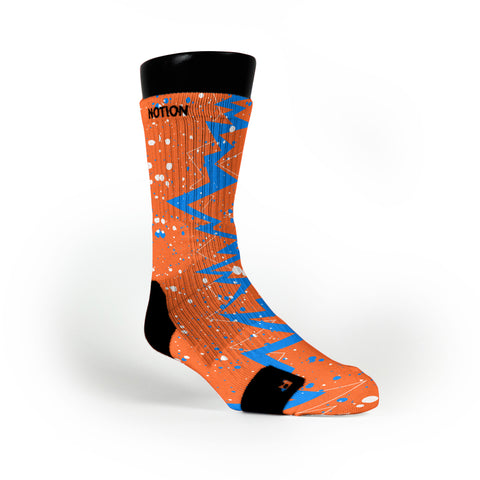 Thunder Quakes Custom Notion Socks