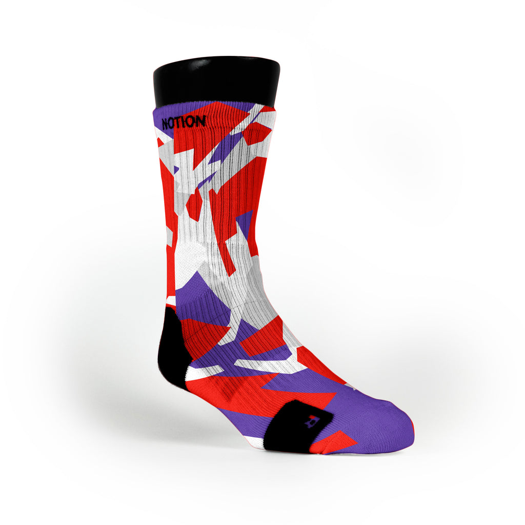 Toronto Hardwood Camo Custom Notion Socks