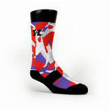 Toronto Hardwood Camo Custom HoopSwagg Socks