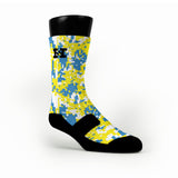 Ucla Digital Camo Custom HoopSwagg Socks