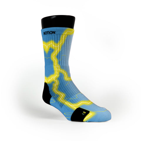 Ucla Storm Custom Notion Socks