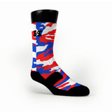 Usa Camo Custom HoopSwagg Socks