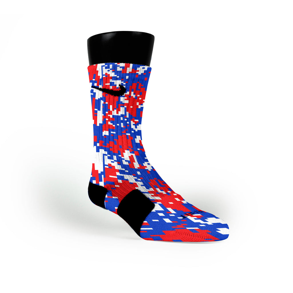 Usa Digital Camo Custom Nike Elite Socks