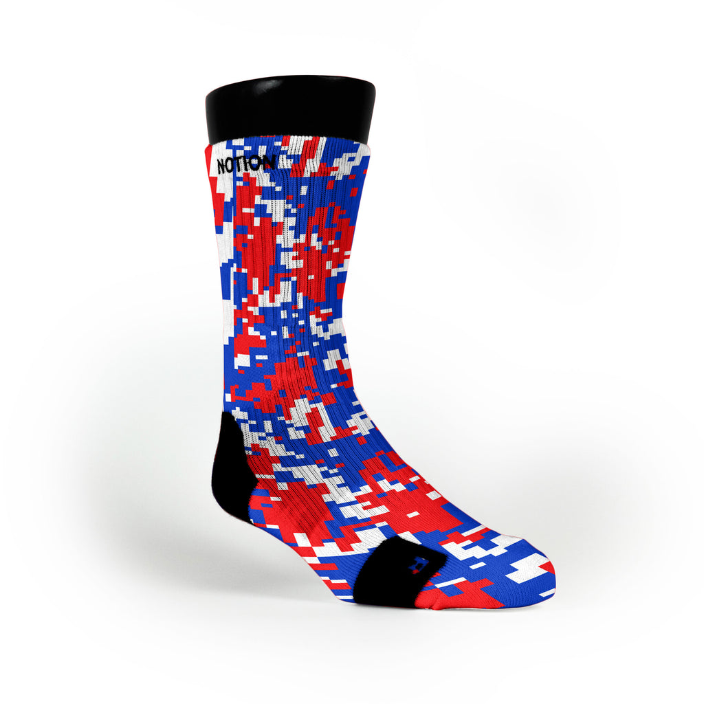 Usa Digital Camo Custom Notion Socks