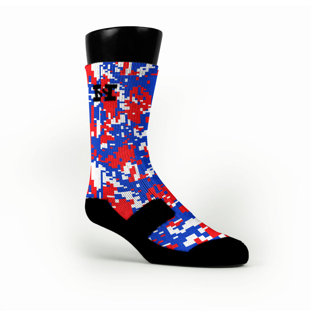Usa Digital Camo Custom HoopSwagg Socks