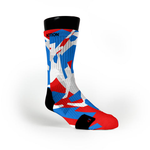 Usa Hardwood Camo Custom Notion Socks
