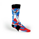 Usa Hardwood Camo Custom Nike Elite Socks