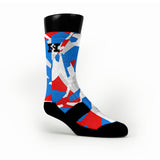 Usa Hardwood Camo Custom HoopSwagg Socks
