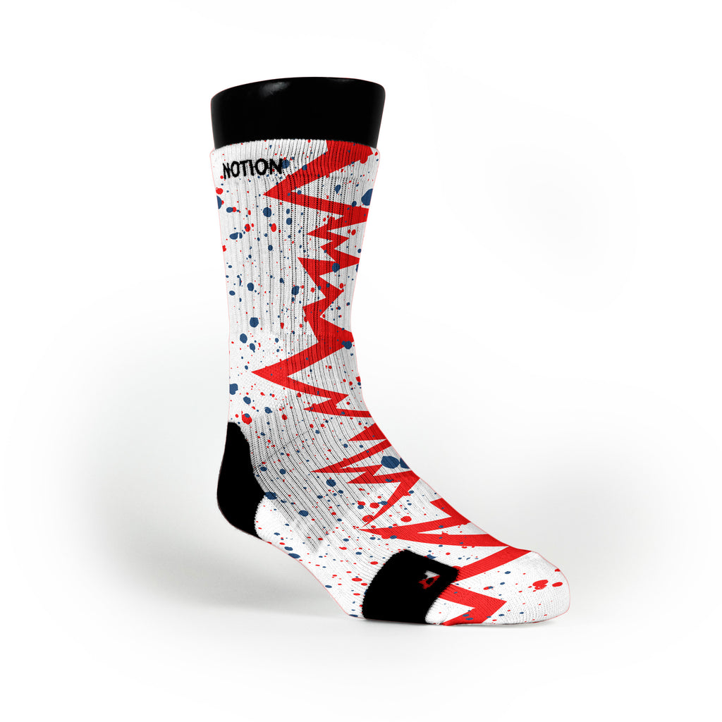 Usa Quakes Custom Notion Socks
