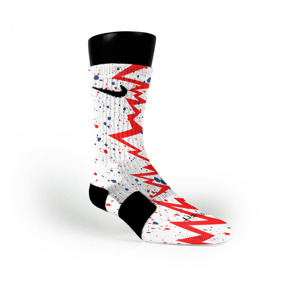 Usa Quakes Custom Nike Elite Socks