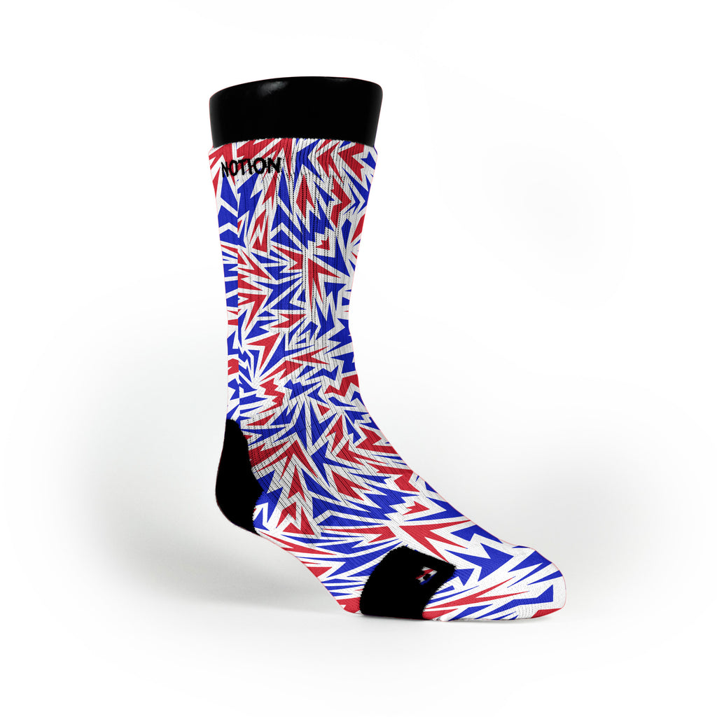 Usa Shards Custom Notion Socks
