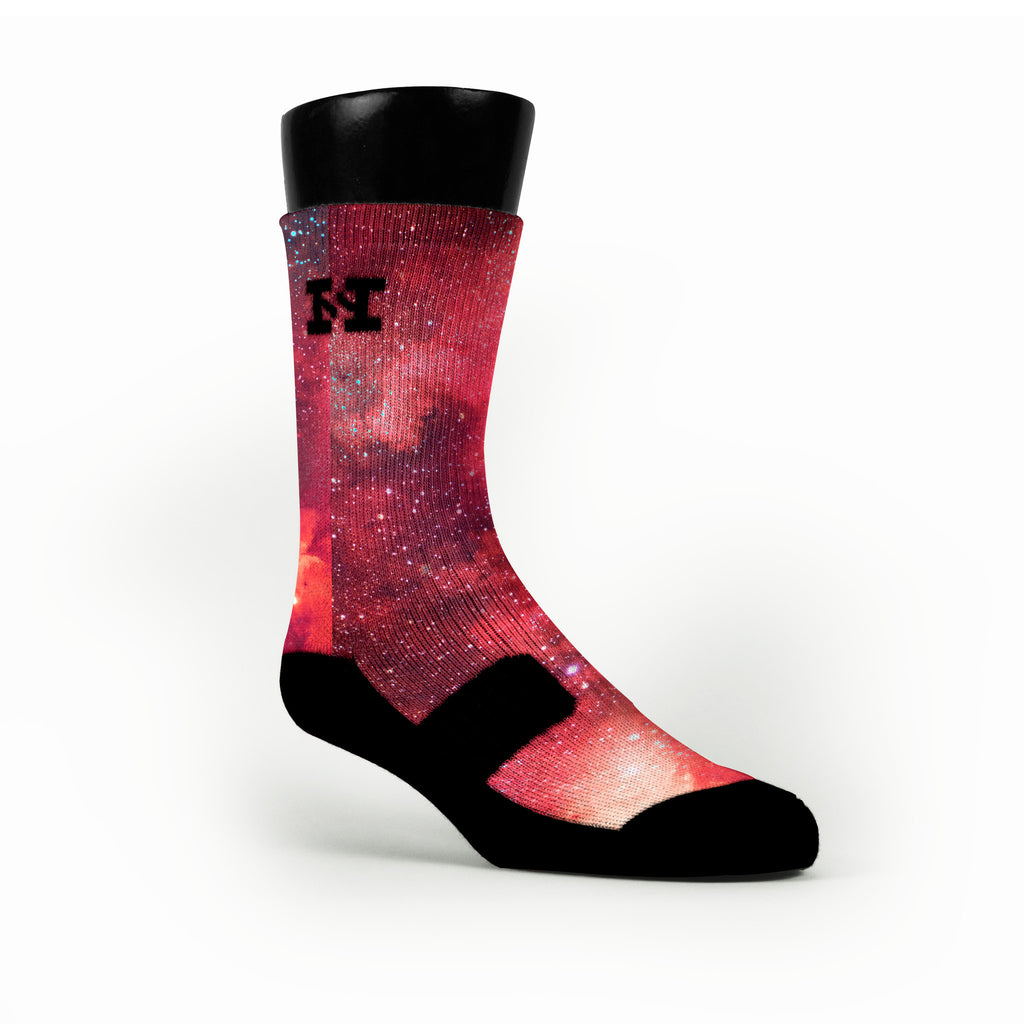 Velvet Galaxy Custom HoopSwagg Socks