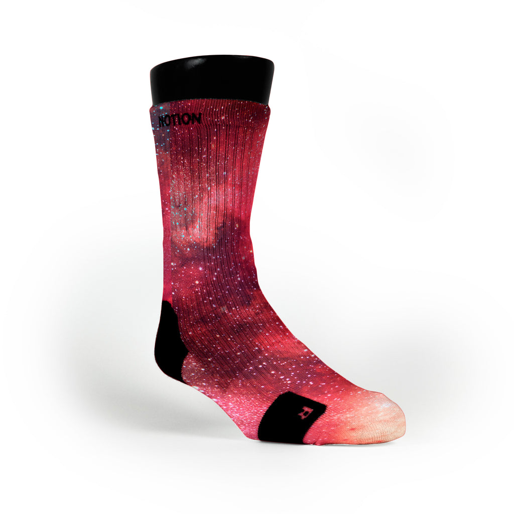 Velvet Galaxy Custom Notion Socks