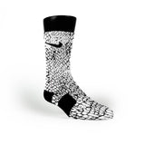 Venom Skin Custom Nike Elite Socks
