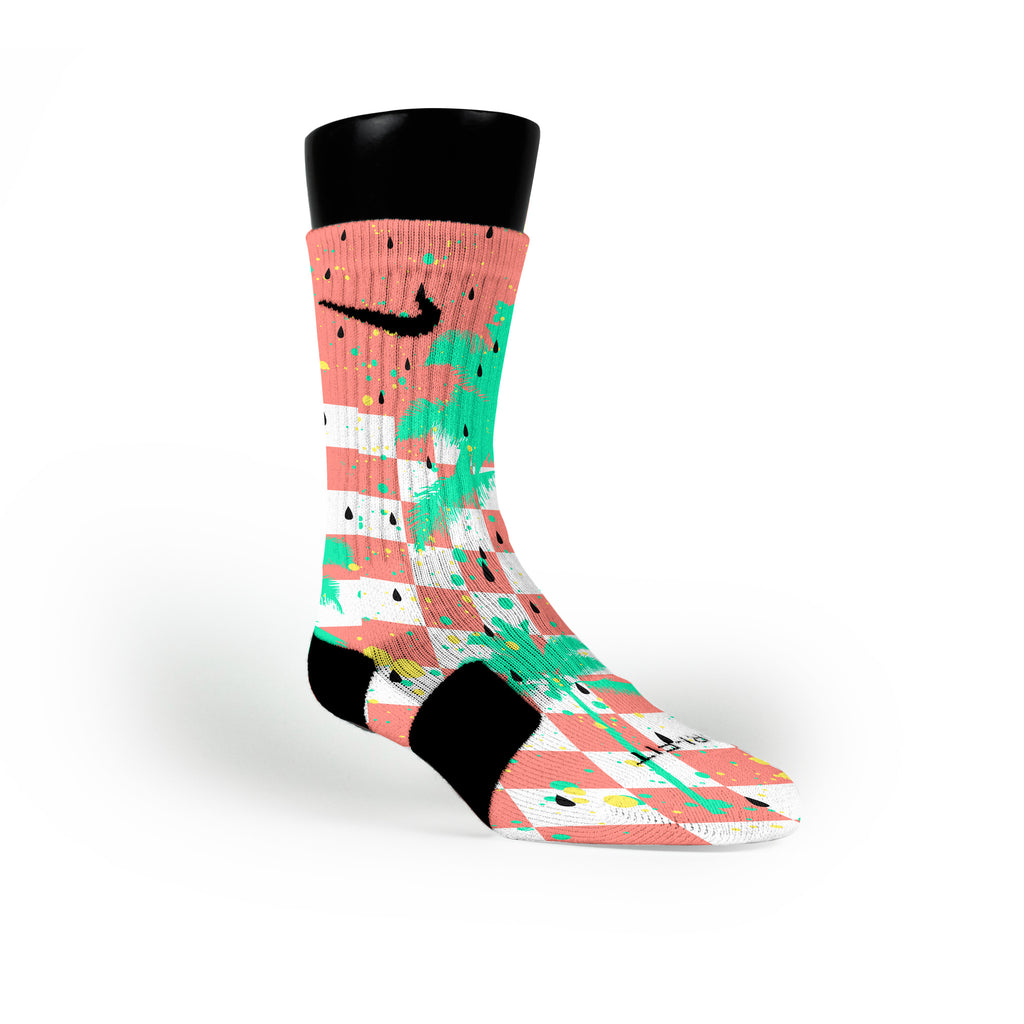 Watermelons Custom Nike Elite Socks