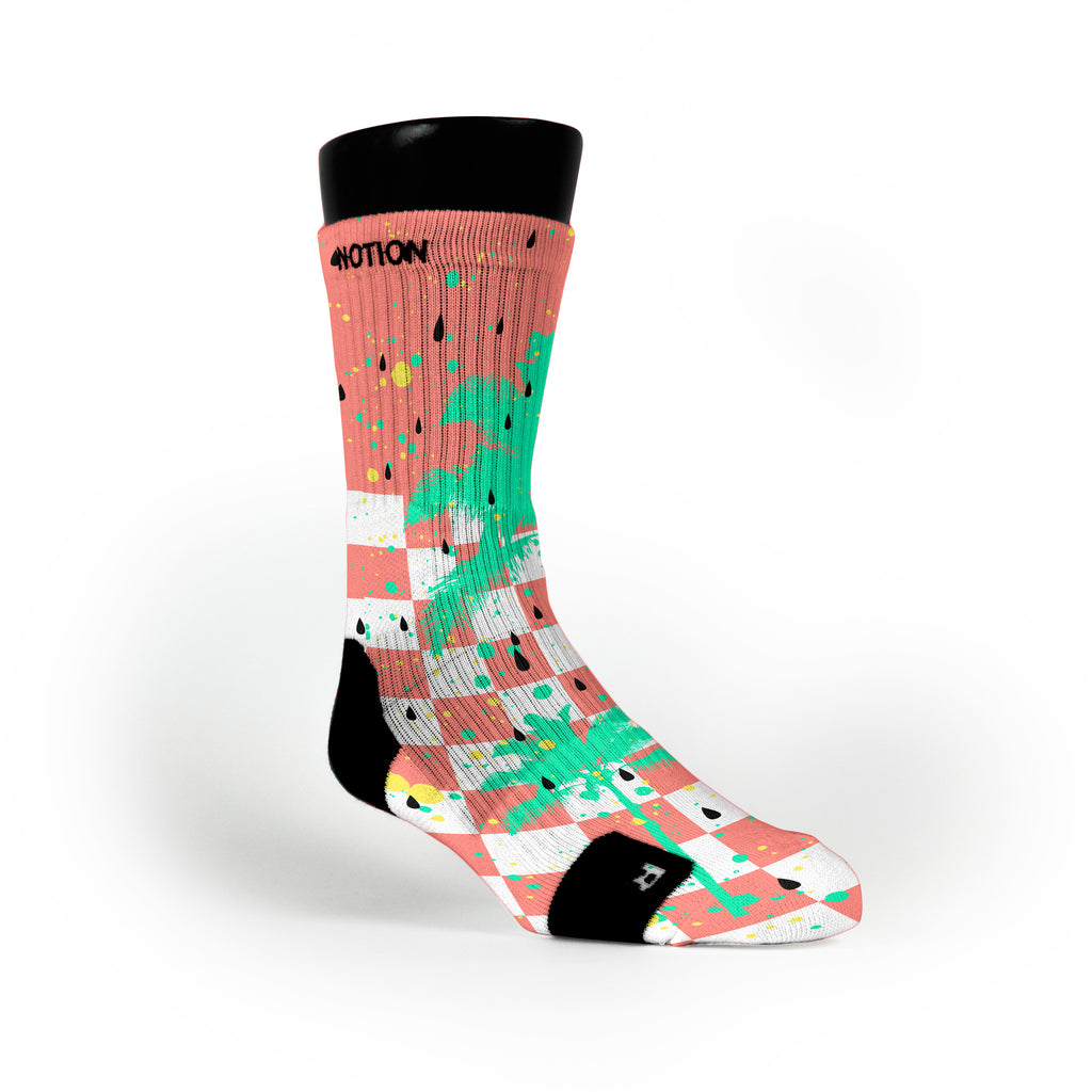 Watermelons Custom Notion Socks