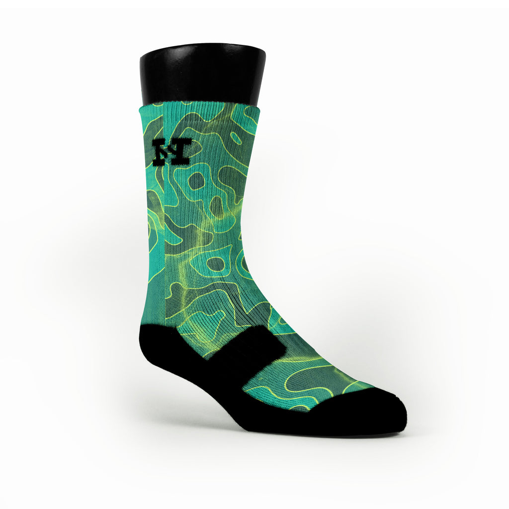 Weatherman 2 0 Custom HoopSwagg Socks