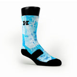 Winter Crystals Custom HoopSwagg Socks