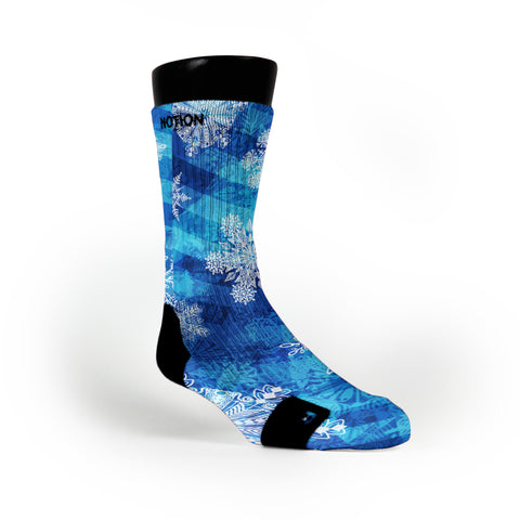 Winter Wonderland Custom Notion Socks