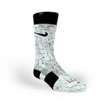 Wood Custom Nike Elite Socks