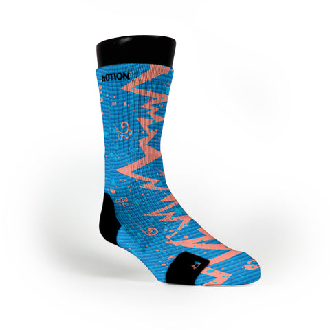 Year Of The Dragon Quakes Custom Notion Socks