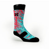Year Of The Dragon Custom HoopSwagg Socks