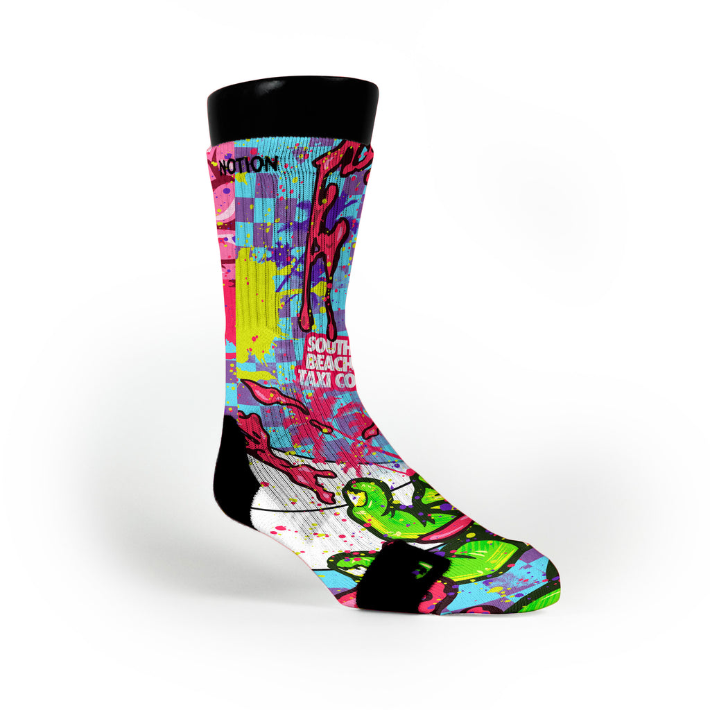 Zombies Custom Notion Socks