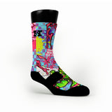 Zombies Custom HoopSwagg Socks