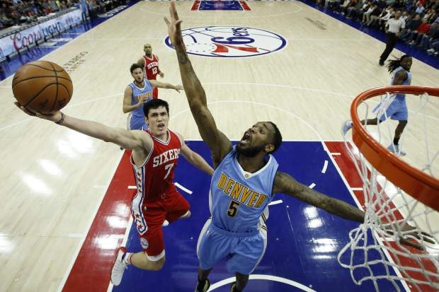 Gallinari, Barton Lead Nuggets Past Sixers, 106-98 | Will Barton