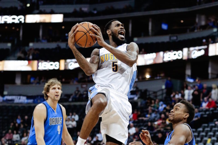 Barton scores 31 in Nuggets' win over Mavericks