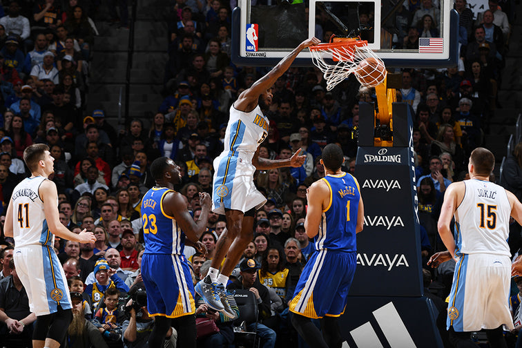 Nuggets tie NBA record for three pointers made, take down Warriors