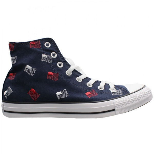 Converse Damen Herren Unisex Sneaker Chuck Taylor All Star Canvas High Top *** CTAS HI OBSIDIAN/WHI *** 153824F blau blue