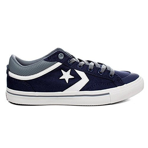 Converse Herren Men Schuhe Shoe blau blue Sneaker Chuck Taylor All Star *** CT STREET OX LOW TOP *** 142172C Canvas (45)