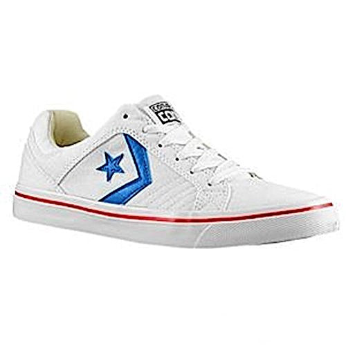 Converse Unisex Damen Herren Sneaker Chuck Taylor All Star weiß *** Gates OX Withe/Blue/R *** 244244C Canvas