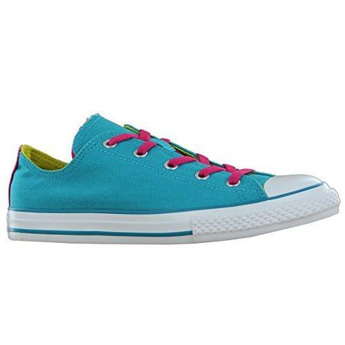 Converse CT Double Tongue OX Turquoise Kids Trainers Size 36 EU