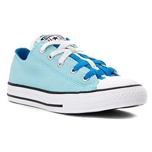 Converse Damen Woman Girls Chuck Taylor CT All Star Loopholes Ox light blue Canvas Low Top *** 651745F ***