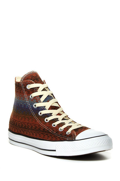 Converse Unisex Sneakers Chuck Taylor CT All Star High Top *** CT HI TERRAROSA *** 147851F Terracotta blau Canvas